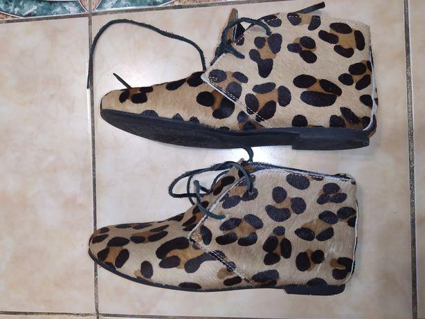 Zara girls ботиночки + есть полушубок