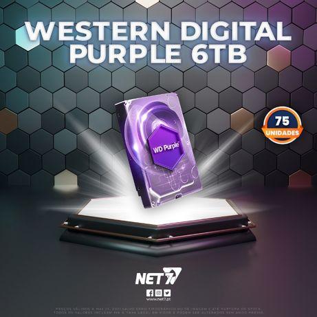 75 em Stock | HDD Western Digital 6TB Purple | Entrega Imediata