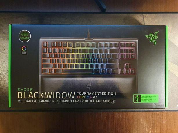 Механическая клавиатура Razer BlackWidow TE Chroma V2 Green Switches