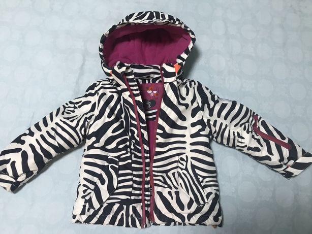 Зимняя куртка пуховик пальто для девочки COOL CLUB!