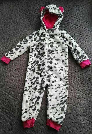 Dres 98 kombinezon jednoczęściowy KROWA piżama