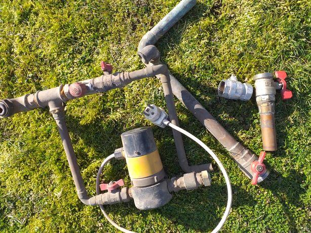 Pompa pompka  ogrzewanie CO zawory zawór kulkowy