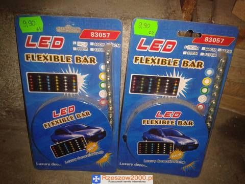Listwa LED, Flexible Bar, 24cm, LED do samochodu