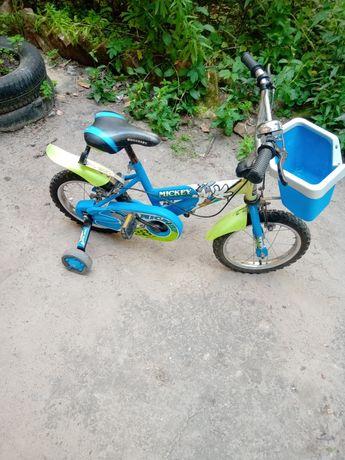 Велосипед  Mickey 14колеса