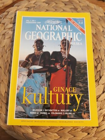 National Geographic vol. 1 nr 1 październik 1999