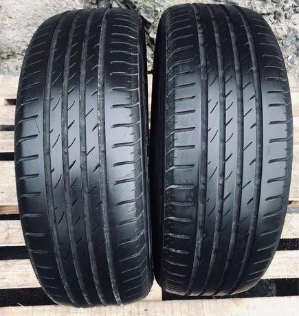 Nexen 205/60r15 2 шт пара лето резина шины б/у склад