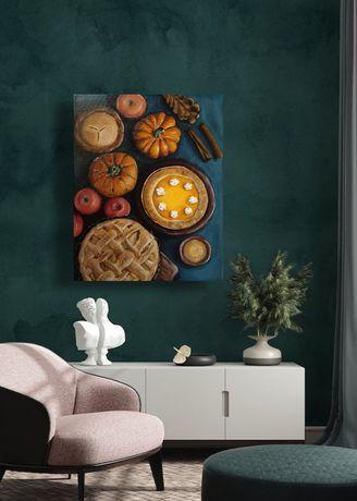 Картина для интерьера. Осенний натюрморт