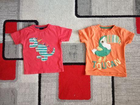 2 x bluzka r.86 dla chłopca f. TU i Next