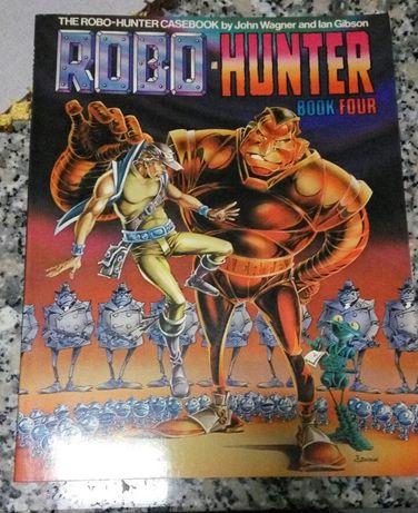 Banda desenhada Robo Hunter - book four
