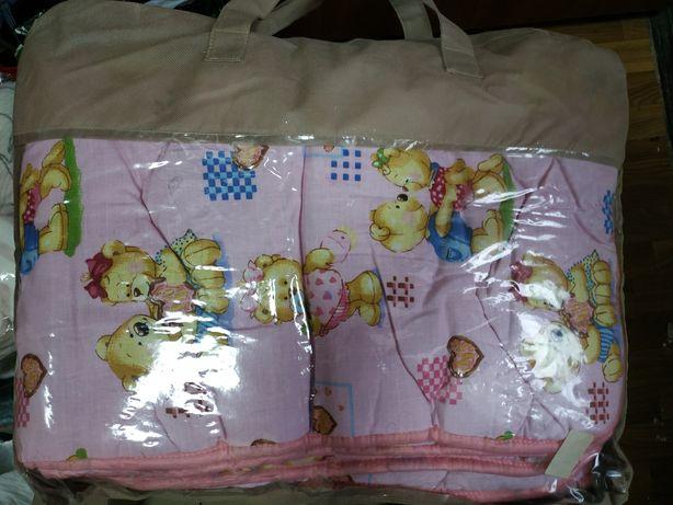 Детское одеяло розовое для девочки
