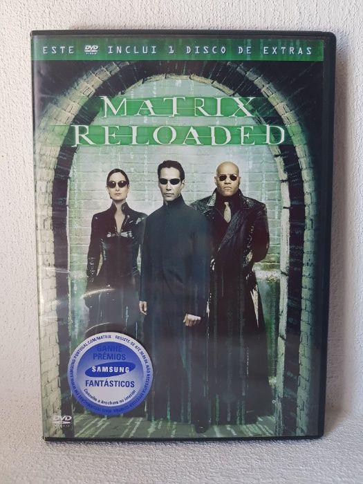 Matrix Reloaded + DVD de extras Odemira - imagem 1