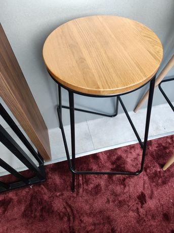 Hoker stołek barowy krzesło loft