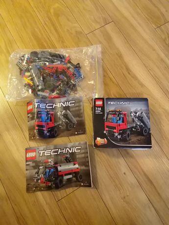 LEGO Technic 42084 Hakowiec i 42001 Mały samochód terenowy