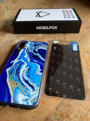 Etui i folia nano glass na iphone xs mobilfox