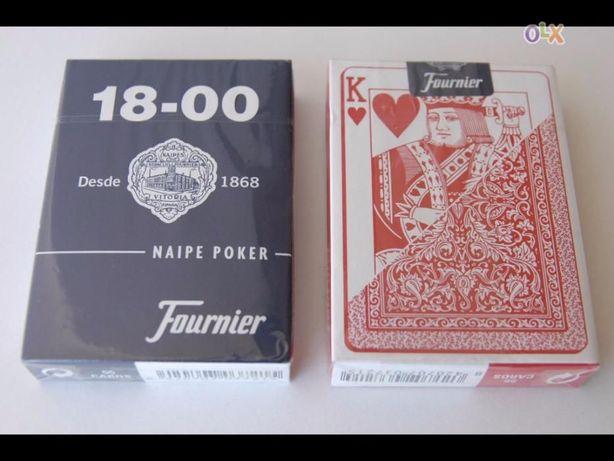 DESCIDA ATÉ 30/10: 12 baralhos cartas da marca Fournier 18-00
