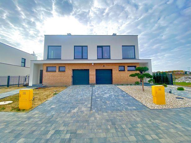 Nowy Dom Bliźniak w Dominowie