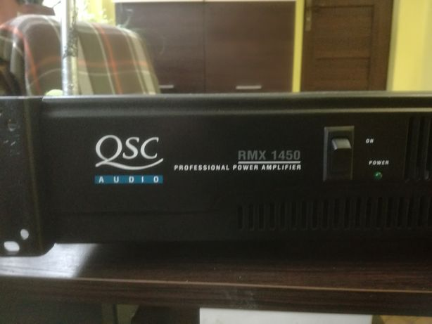 Qsc 1450 audio końcówka mocy .
