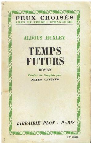 3750 - Literatura - Livros de Aldous Huxley ( Vários )