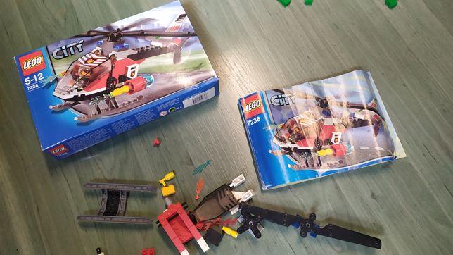 LEGO helikopter straż