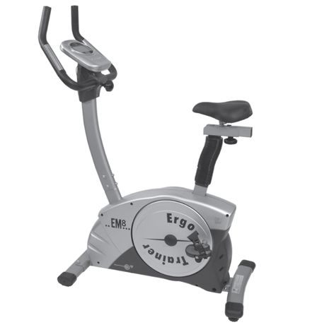 Rower stacjonarny, magnetyczny treningowy do 150kg Christopeit EMI/980