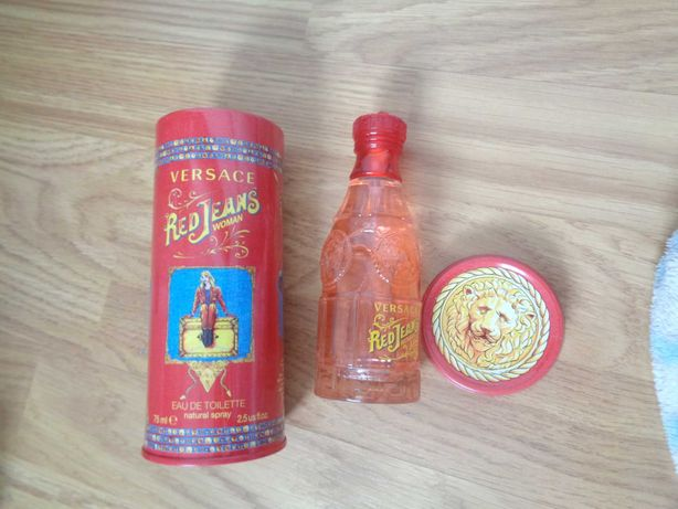 Perfume Versace Red Jeans