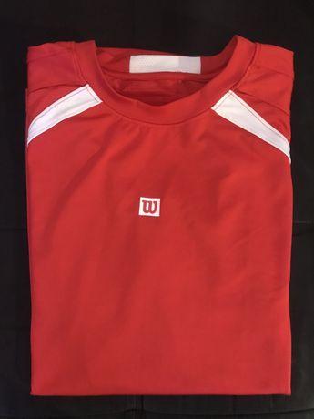 T-Shirt Ténis ou Padel Wilson Profissional Size M
