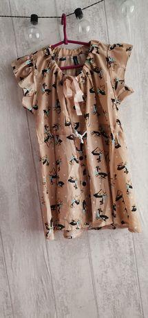 Piękna bluzeczka w sarenki