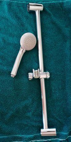 Uchwyt prysznic GROHE, słuchawka prysznicowa z regulacją HANSGROHE