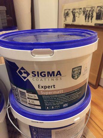 Farba ścienna akrylowa Sigma Coatings Expert Supermatt ciemna zieleń