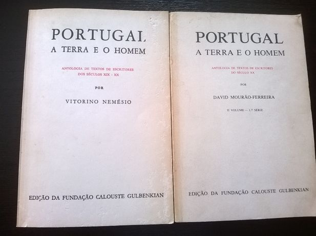 """Portugal a Terra e o Homem"" Vols I e II"