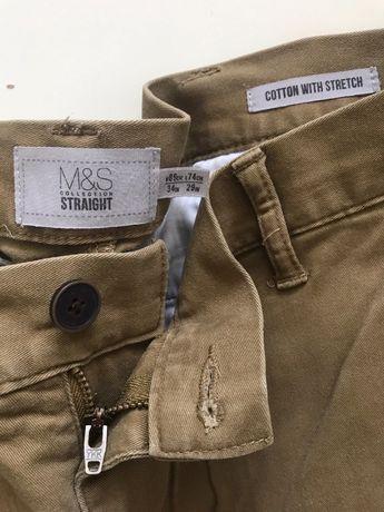 marks & spencer штаны чиносы