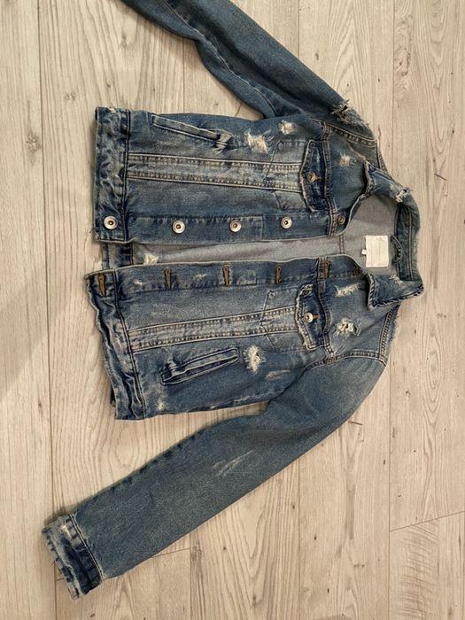 Kurtka jeansowa Zara Warszawa - image 1