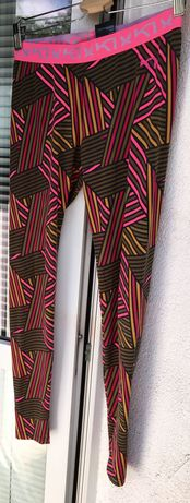 Kolorowe legginsy damskie Kari Traa 38