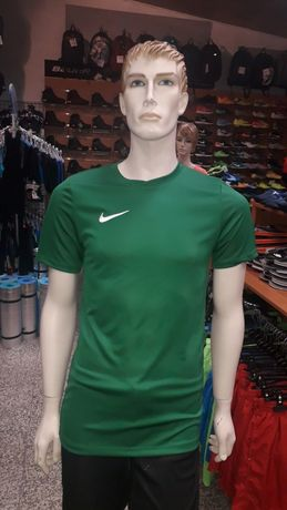 Koszulka piłkarska Nike S,M zielona