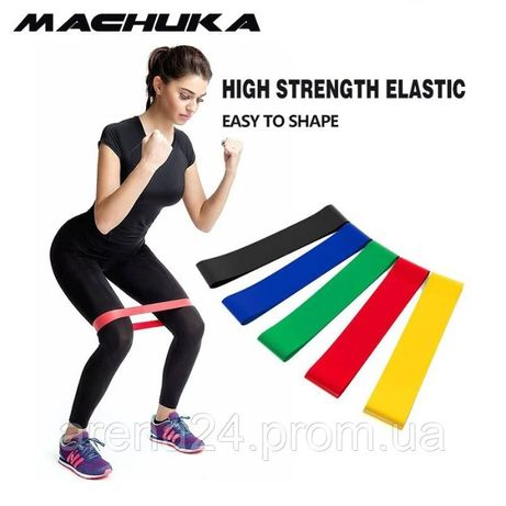 Набор резинок для фитнеса 5шт LT-005, набор эспандеров, фитнес резинка