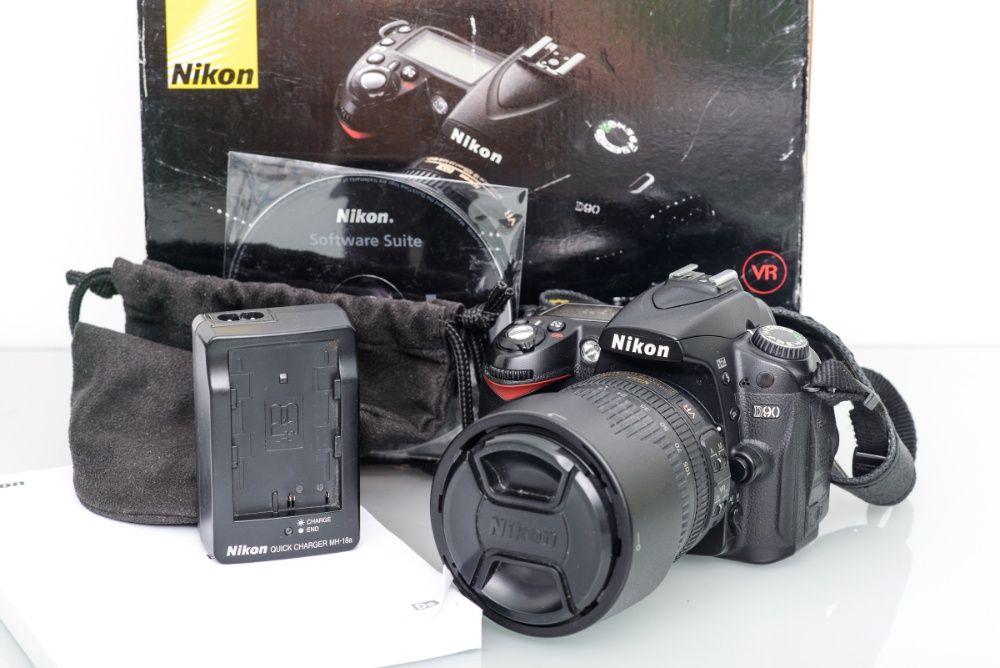Nikon D90 + Nikkor 18-105 mm f/3.5-5.6G ED VR - pierwszy właściciel! Kraków - image 1