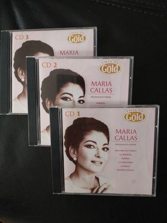 Maria Callas - trzy płyty CD