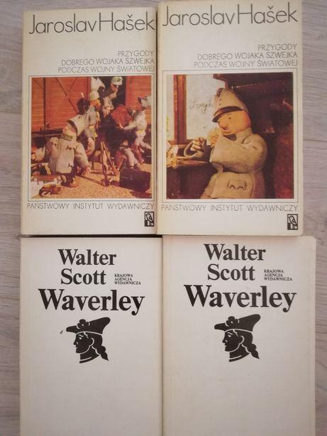 Walter Scott Waverley i Hasek Przygody dobrego Wojaka Szwejka klasyka
