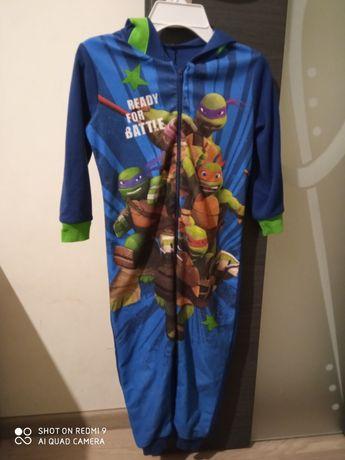 Pajac, piżamka 5 lat żółwie ninja