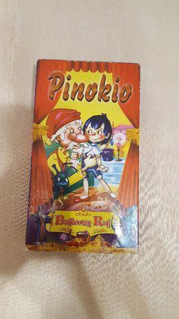 """Bajka dla dzieci pt. """"Pinokio"""" - kaseta VHS"""