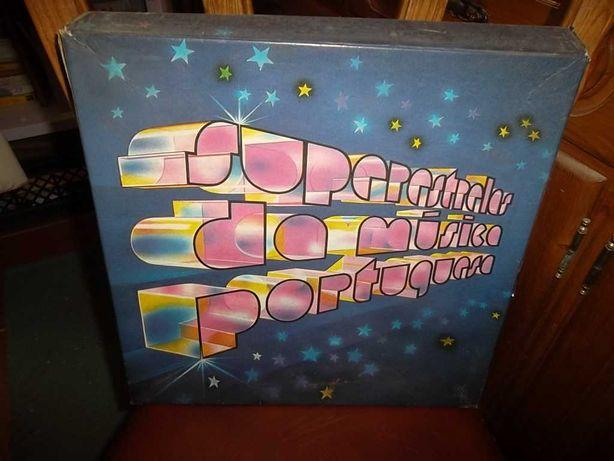 Caixa LP Super Estrelas da Música Portuguesa