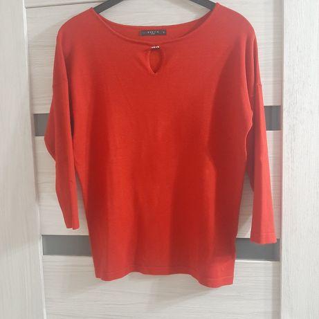 Czerwony sweterek roz.38