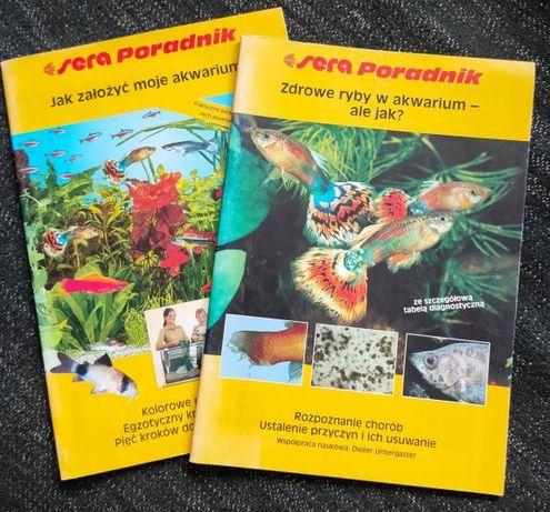 2 książki o hodowli ryb