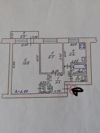 Срочно продам 2-х комнатную квартиру в Геническе, Херсонской обл.