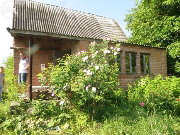 Продаю участок с недостроенным домом! Киевская область.