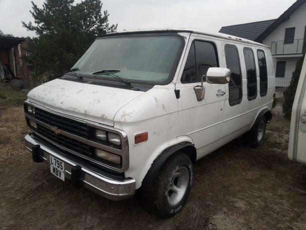 Chevrolet g20  1994r 4,6l zamiana na 126p KUPIĘ FIATA 126p