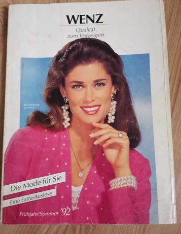 Katalog Wenz 1992