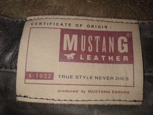 Шкіряні жіночі штани Мustang
