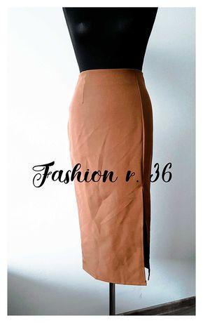 Fashion Spódnica ołówkowa midi 36