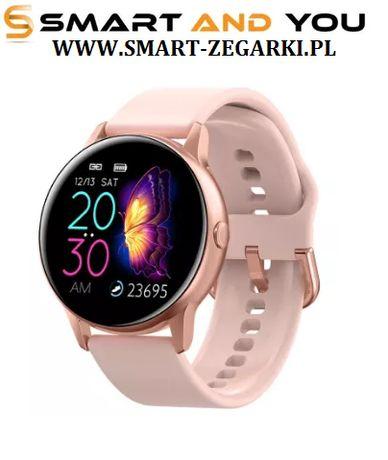Zegarek smartwatch damski DT88 kompatybilny z Iphone Samsung Huawei